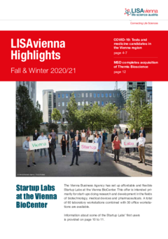 This is LISAvienna's second print newsletter published in 2020. Enjoy reading!